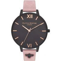 Damen Olivia Burton 3D Biene After dunkel Embellished Armband Uhren