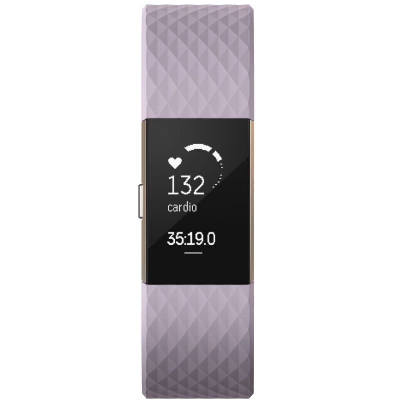 Reloj para Unisex Fitbit Charge 2 Special Edition Bluetooth Fitness Activity Tracker FB407RGLVL-EU