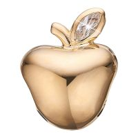 Ladies Christina Gold Plated Sterling Silver Apple Bead Charm 623-G82