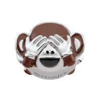 femme Persona See No Evil Monkey Emoji Bead Charm Watch H14992P1