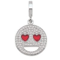 femme Persona Heart Eyes Emoji Charm Watch H14993PZ