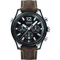 Herren Union Glashuette Belisar Sport Chronograph Watch D0099272620700