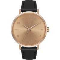 Nixon The Arrow Leather Damklocka Svart A1091-1098