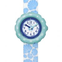 Kinder Flik Flak Soft Blue Watch FPSP015