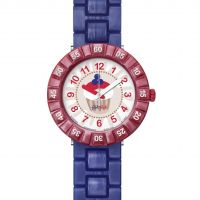 Childrens Flik Flak Purplelita Watch