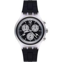 Unisex Swatch Eleblack Chronograf Uhren