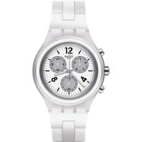 unisexe Swatch Elesilver Chronograph Watch SVCK1007