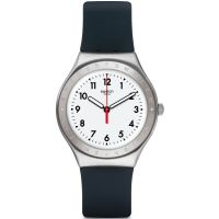 Unisex Swatch Black Reflexion Watch