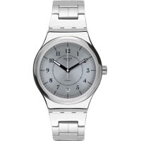 Swatch Sistem Check Unisex horloge Zilver YIS412G