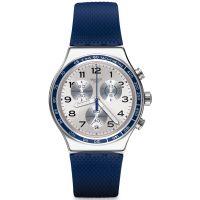 homme Swatch Frescoazul Chronograph Watch YVS439