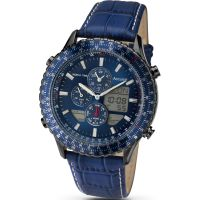 Mens Accurist Alarm Chronograph Watch