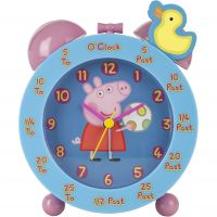 Childrens Character Peppa Pig Time Teacher Alarm Clock