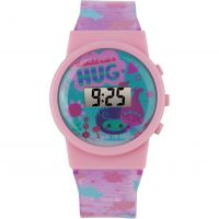 Character Trolls LCD Sound Effect WATCH