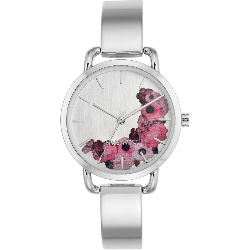 Ladies Nine West Watch NW/2043SVSB