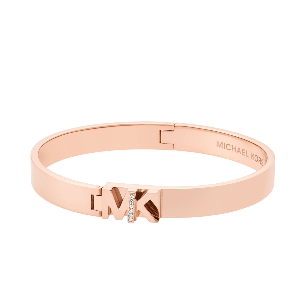 Ladies Michael Kors Jewellery Rose Gold Plated Iconic Bracelet
