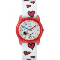 enfant Timex Kids Analog x Peanuts Snoopy Hearts Watch TW2R41600