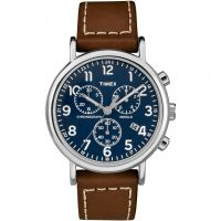homme Timex Weekender Chronograph Watch TW2R42600