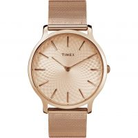 Timex Skyline 40mm Dameshorloge Rose TW2R49400