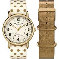 Damen Timex Weekender Box-Set Uhren