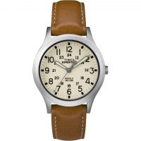 Timex Expedition Scout Unisexklocka Brun TW4B11000