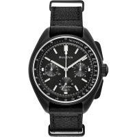 homme Bulova Special Edition Lunar Pilot Watch 98A186