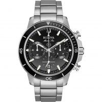Herren Bulova Marine Stern Chronograf Uhr