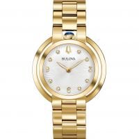 Damen Bulova Rubaiyat Watch 97P125