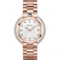 Damen Bulova Rubaiyat Watch 98R248