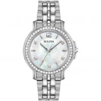 Ladies Bulova Crystal Watch