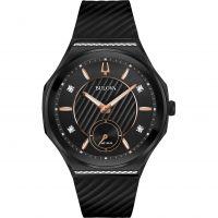 Damen Bulova Curv Diamond Watch 98R240