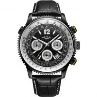 Herren Rotary Exclusive Pilot Chronograph Watch GS00649/19
