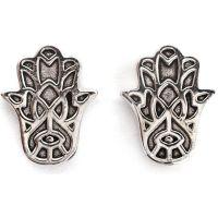 Damen Chrysalis Silber Plated Bodhi Hasma Hand Ohrringe