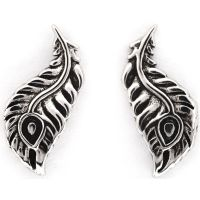 femme Chrysalis Bodhi Peacock Feather Earrings Watch CRET0411AS