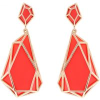 Karen Millen Jewellery Colour Shard Statement Earrings JEWEL