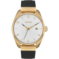 femme Nixon The Bullet Leather Luxe Watch A1185-513