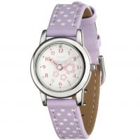 Gioielli da Bambino D For Diamond Floral Lilac Watch Z1101
