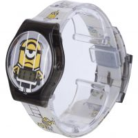 Kinder Character Despicable Me 3 Printed Strap LCD Watch MNS115