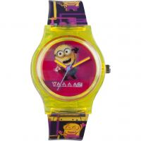 Childrens Character Despicable Me 3 80s Style Watch