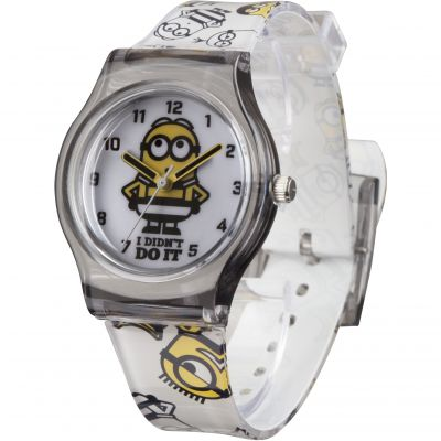 Childrens character despicable me 3 breakout stripe style watch mns133 for Despicable watches