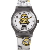 Childrens Character Despicable Me 3 Breakout Stripe Style Watch