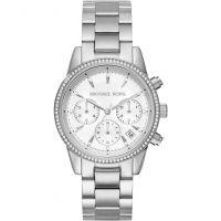 femme Michael Kors Ritz Chronograph Watch MK6428