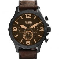 Herren Fossil Nate Chronograph Watch JR1487
