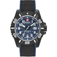 Herren Swiss Military Hanowa Black Carbon Watch 06-4309.17.003