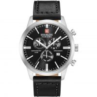 Herren Swiss Military Hanowa Chrono Classic Chronograph Watch 06-4308.04.007