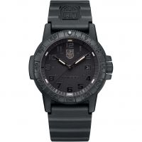 Mens Luminox 0320 Series Giant Leatherback Sea Turtle Blackout Watch