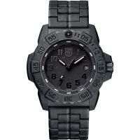 Herren Luminox 3500 Serie Navy Seal Blackout Uhren