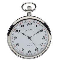 poche Mount Royal Open Face Quartz Pocket Watch MR-B2