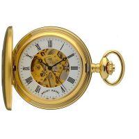 poche Mount Royal Half Hunter Pocket Watch MR-B25