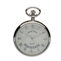 Taschenuhr Mount Royal Open Face Quartz Pocket Watch MR-B30C