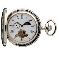 poche Mount Royal Half Hunter Sun Moon Pocket Watch MR-B31C